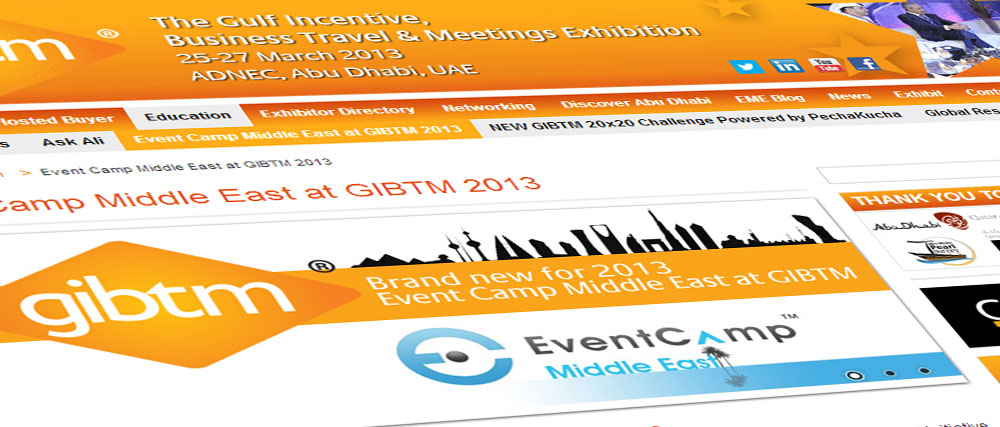 Event Camp Middle East 2014 – Programme at a Glance