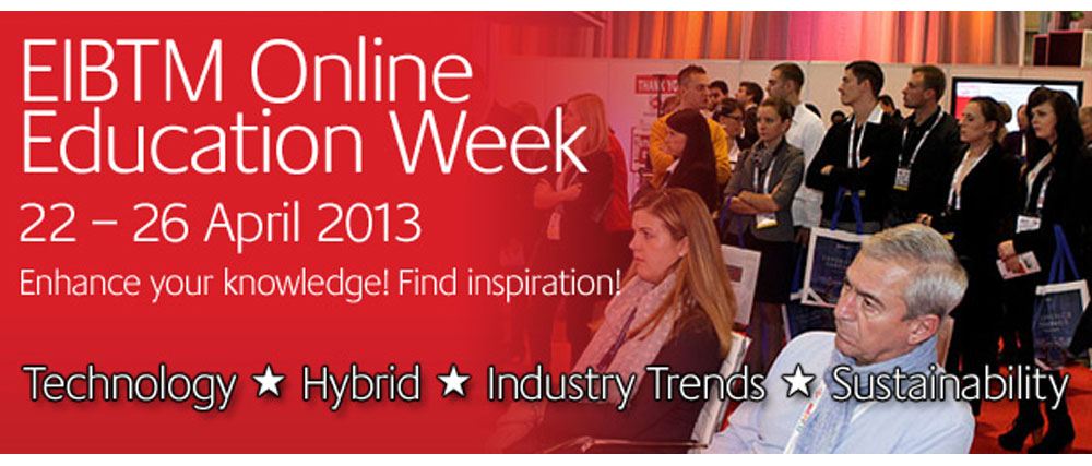 Join the EIBTM Online Education Week