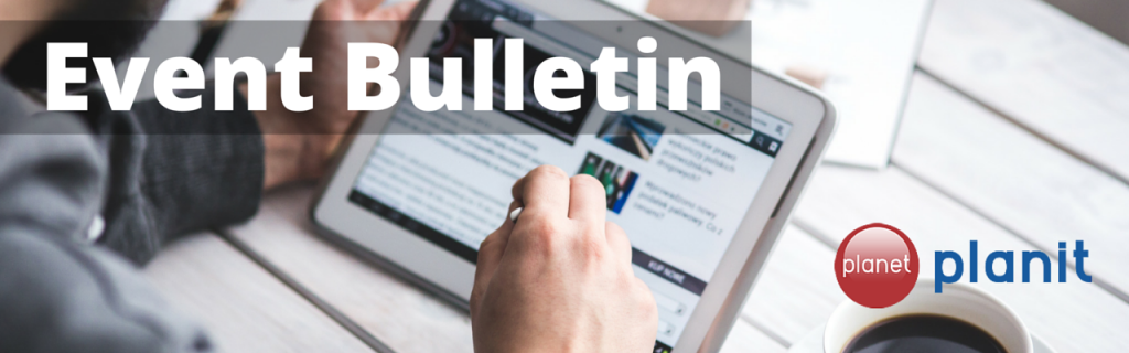Event Bulletin - planetplanit