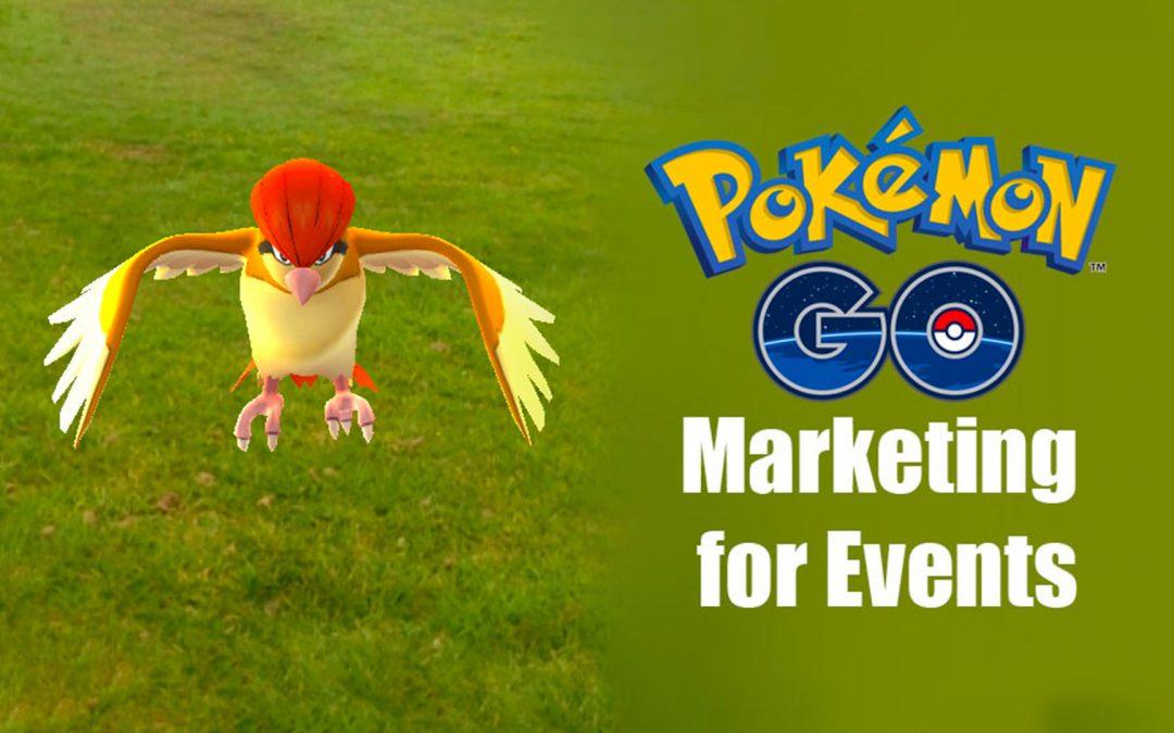 Pokemon Go Marketing for Events